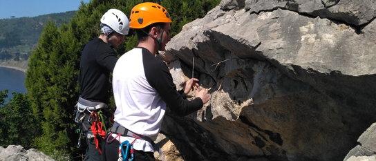 Базовые техники в альпинизме. Страховка. Работа в связках
