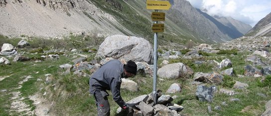 Развитие инфраструктуры в горах