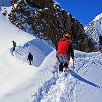 Альпинистская смена в Актру