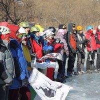 Чемпионат Дальневосточного федерального округа по ледолазанию