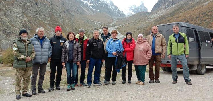 В Безенги завершила свою работу ежегодная отчетная конференция Федерации альпинизма России