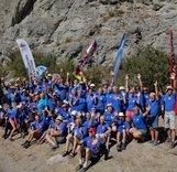 Соревнования по альпинизму среди ветеранов