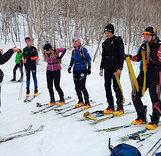 Новые гоночные ботинки для юных ски-альпинистов Камчатки