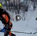 В Магнитогорске состоялся 1-ый этап кубка России по ски-альпинизму. ВИДЕО