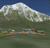 Чемпионат по альпинизму в Ингушетии. Схема базового лагеря и проезда к нему