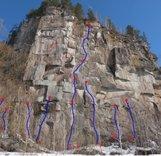 Новые скальные маршруты на Алтае