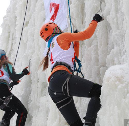 4 этап Кубка России, Всероссийские юношеские соревнования по ледолазанию