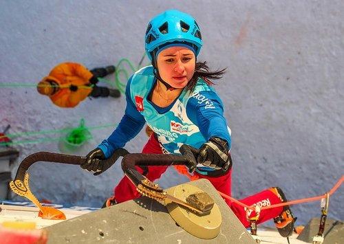Чемпионат мира по ледолазанию состоится 15-16 декабря в Москве