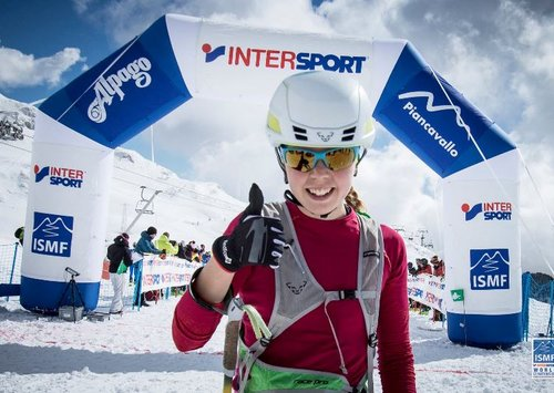 Победа на втором этапе Кубка мира по ски-альпинизму
