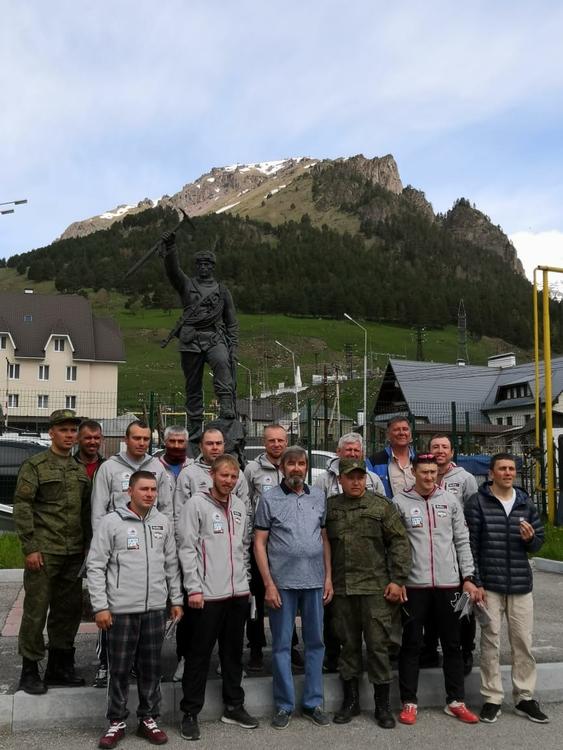 В Терсколе завершил работу сбор для военнослужащих по подготовке на Жетон